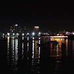 Ночная Паттая - вид с Beach road